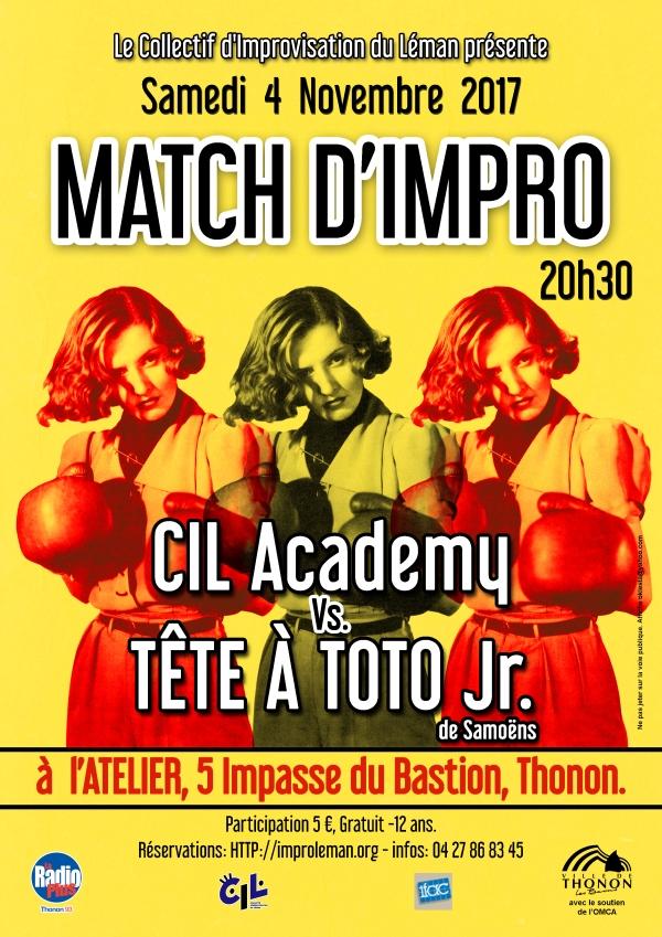 CIL Academy vs Tete A Toto Jr