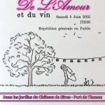 De l'Aamour et Du Vin